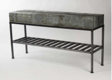 Burke Patched Recycled Metal Console