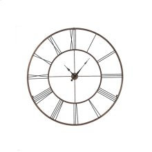 Extra Large Dynasty Gold Roman Numeral Wall Clock