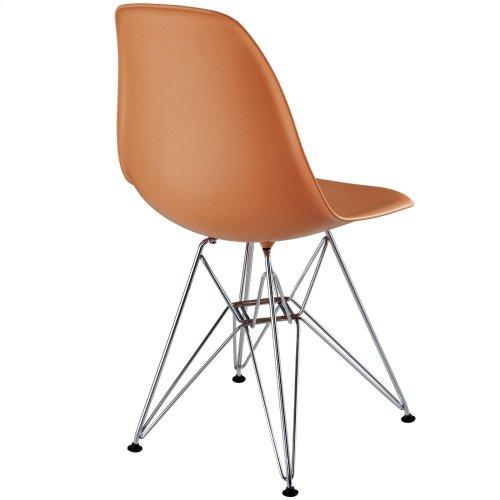 Paris Dining Side Chair in Orange