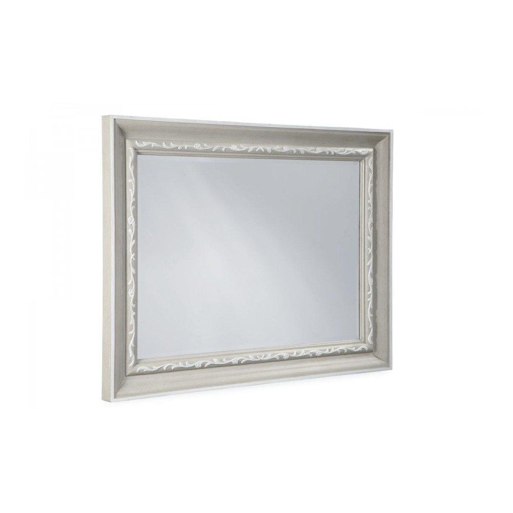 Chateaux Landscape Mirror - Grey