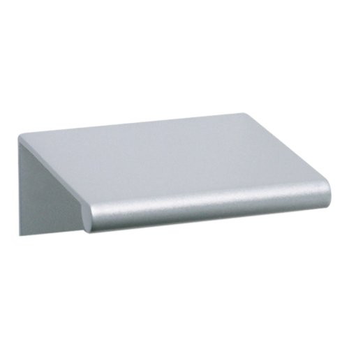 Tab Edge Pull 1 1/4 Inch (c-c) - Matte Chrome