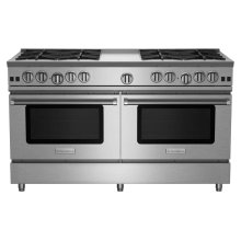 """60"""" RNB Series Range with 12"""" Griddle"""