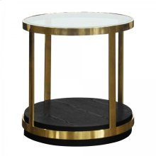 Armen Living Hattie Contemporary End Table