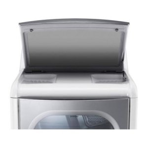 9.0 cu.ft. Mega Capacity TurboSteam Dryer with EasyLoad Door