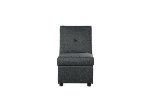 Storage Ottoman/ Chair, Gray