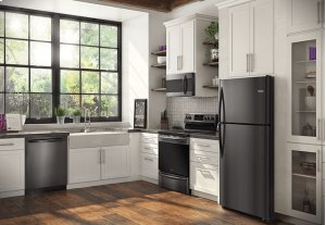 Frigidaire Gallery Custom-Flex 20.3 Cu. Ft. Top Freezer Refrigerator