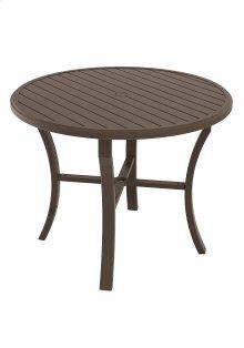 """Banchetto 48"""" Round KD Counter Umbrella Table"""