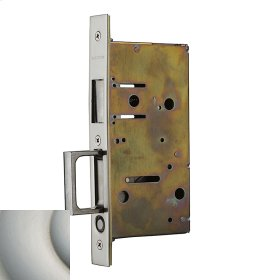 Satin Nickel with Lifetime Finish 8603 Pocket Door Strike with Pull