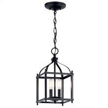 Larkin 2 Light Mini Pendant Black
