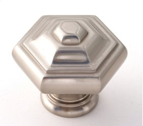 Geometric Knob A1530 - Satin Nickel