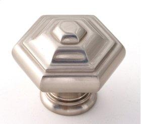 Geometric Knob A1530 - Satin Nickel