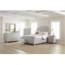Chesapeake Dove 5 Piece Queen Bedroom Set: Bed, Dresser, Mirror, Chest, Nightstand