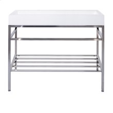 "39"" x 19"" free-standing console"