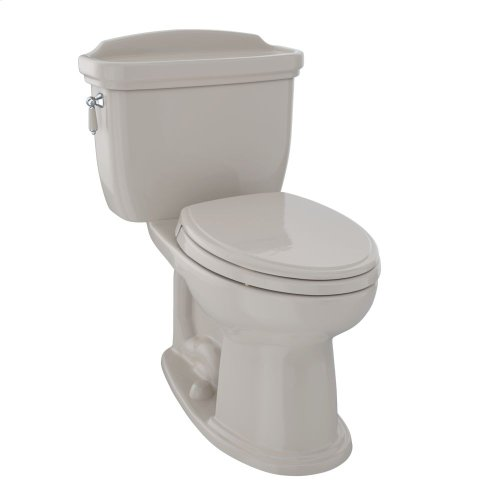 Eco Dartmouth® Two-Piece Toilet, 1.28 GPF, Elongated Bowl - Bone