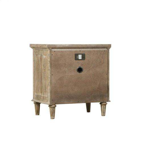 Emerald Home Interlude 2 Drawer Nightstand Sandstone B560-04-05
