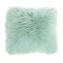"""Fur Fl101 Seafoam 1'10"""" X 1'10"""" Throw Pillows"""