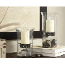 Timber and Tanning Candle Holder (Set of 2)