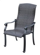 Emerald Home Versailles Wicker Dining Chair Onyx Od1045-27 Product Image