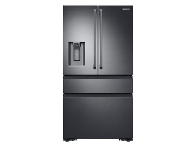 23 cu. ft. Capacity Counter Depth 4-Door French Door Refrigerator with Polygon Handles Product Image