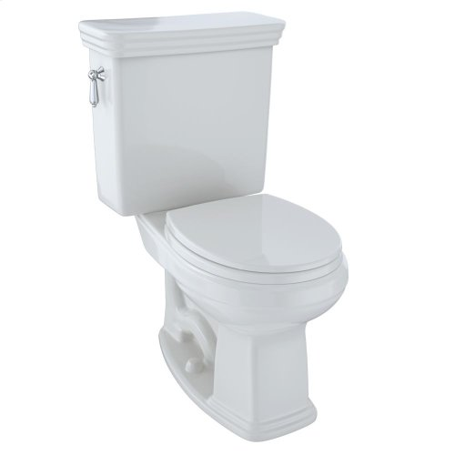 Eco Promenade® Two-Piece Toilet, 1.28 GPF, Round Bowl - Colonial White