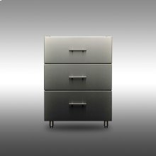 Signature 24-inch Outdoor Base Cabinet - 3 Drawers