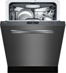 "800 Series 24"" Pocket Handle Dishwasher, SHPM78W54N, Black Stainless Steel Product Image"