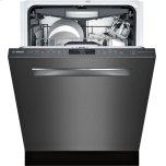 "Bosch24"" Pocket Handle Dishwasher, SHPM78W54N, Black Stainless Steel"