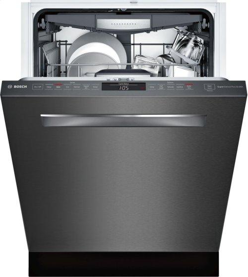 "800 Series 24"" Pocket Handle Dishwasher, SHPM78W54N, Black Stainless Steel"