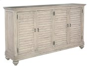 Homestead Louvered Door Entertainment Center Product Image