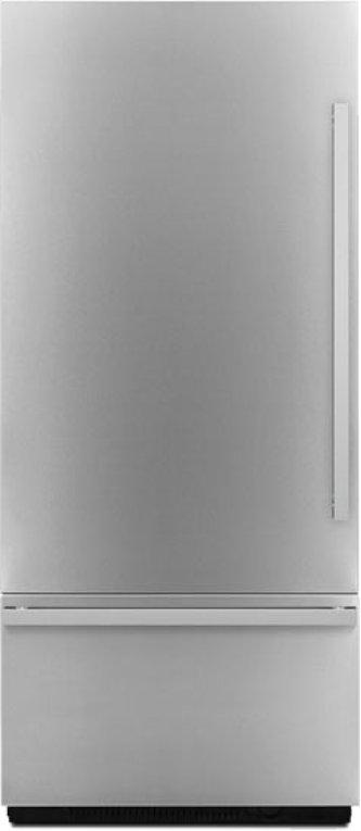 "Euro-Style 36"" Fully Integrated Built-In Bottom-Freezer Left-Hand Door Swing, Stainless Steel"
