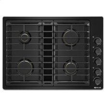 "Black 30"" JX3 Gas Downdraft Cooktop"