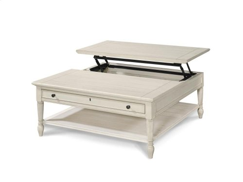 Lift Top Cocktail Table - Cotton