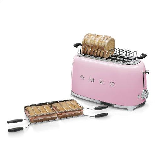 4x2 Slice Toaster, Pink