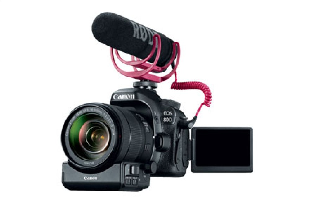 Canon EOS 80D Video Creator Kit Digital SLR Camera