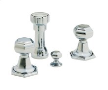Sunset Bidet Set - Antique Brass