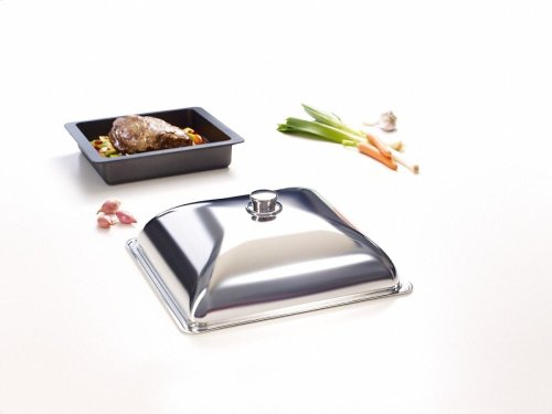 HBD 60-35 Gourmet casserole dish lid for Miele HUB 61-35 and HUB 5000 XL casserole dishes.