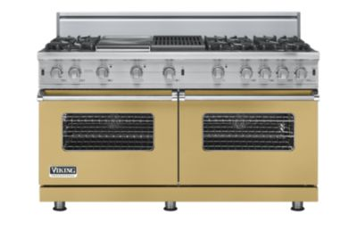 """60"""" Custom Sealed Burner Range, Natural Gas, No Brass Accent"""