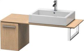 Low Cabinet For Console, European Oak (decor)