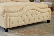Trieste Footboard - King - Buckwheat