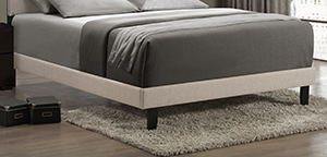 Lawler Queen Footboard/rails - Cream