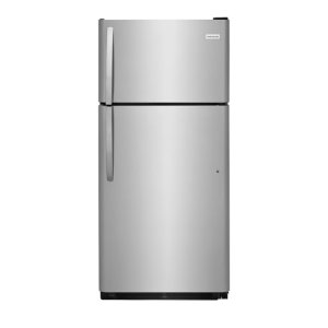18 Cu. Ft. Top Freezer Refrigerator - STAINLESS STEEL