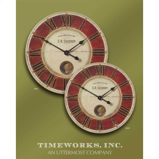 "SB Chieron 23"" Wall Clock"