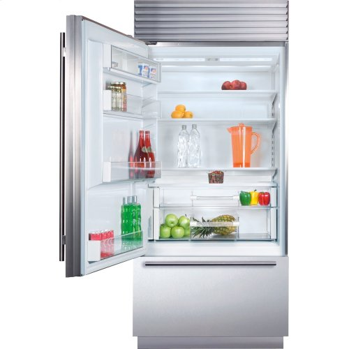 "36"" Classic Over-and-Under Refrigerator/Freezer"