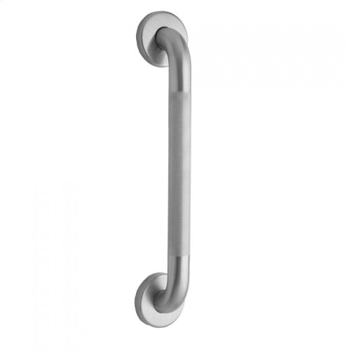 """24"""" Knurled Stainless Steel Commercial 1 1/2"""" Grab Bar (with Concealed Screws)"""