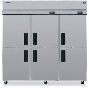 HoshizakiDual Temp Cabinet, Three Section Upright, Half Stainless Door