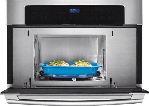 30'' Built-In Convection Microwave Oven with Drop-Down Door