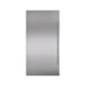 """SubzeroClassic 36"""" Stainless Steel Dual Flush Inset Door Panel with Pro Handle"""
