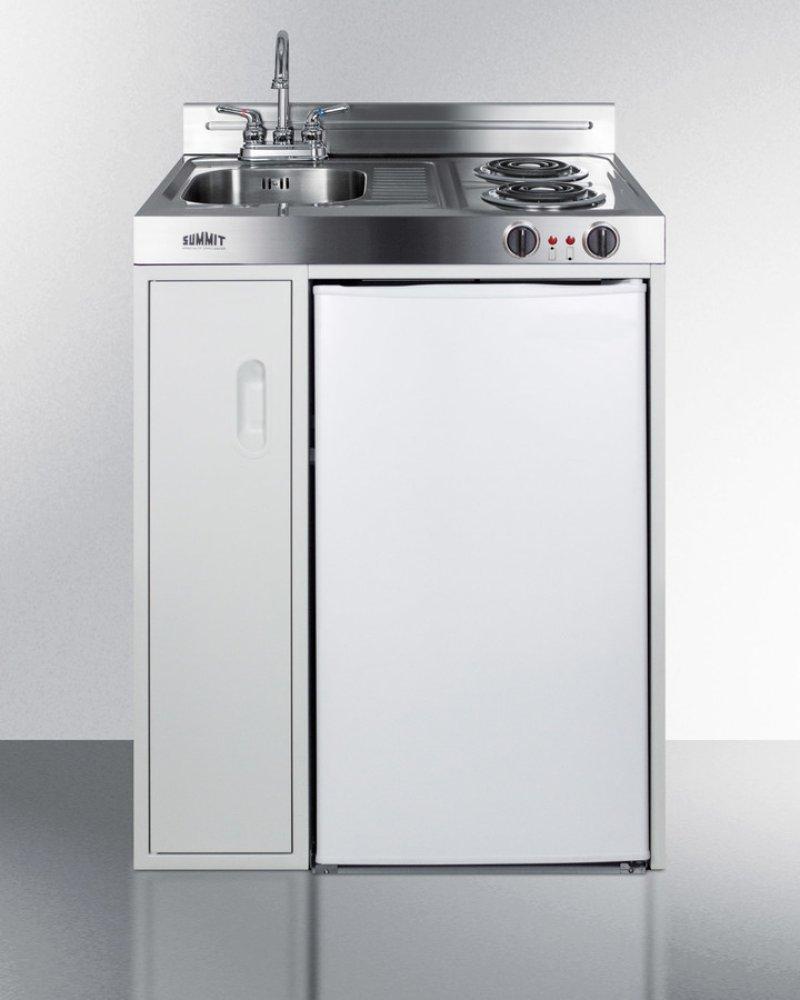 All In One Stove Sink Refrigerator Opendoor