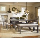 6-Pc. Turino Dining Set - 457-417 Table, 457-260 Bench & (4) 457-434 Side Chairs Product Image