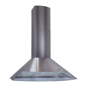 "Broan 35-7/16"" (90cm), Stainless Steel, Chimney Hood, Internal Blower, 450 Cfm"